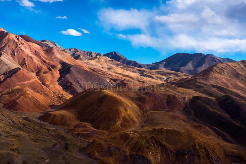 美好的风景:旅行在西藏 免版税库存图片
