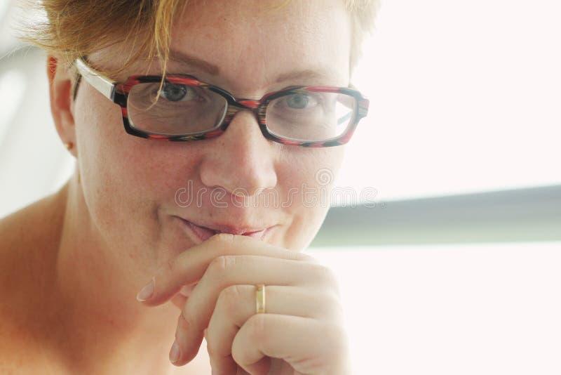 美好的35岁妇女 图库摄影