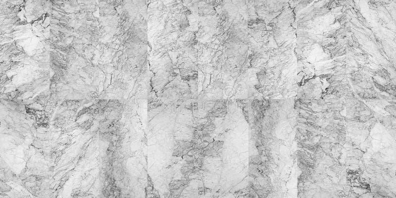 美好的黑白大理石样式 免版税图库摄影