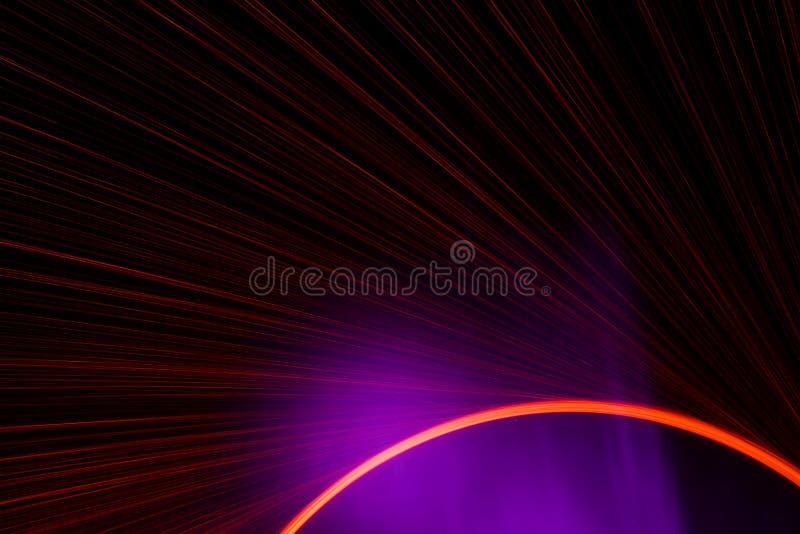 美好的紫色和redï ¼›命中电烙花 免版税库存图片