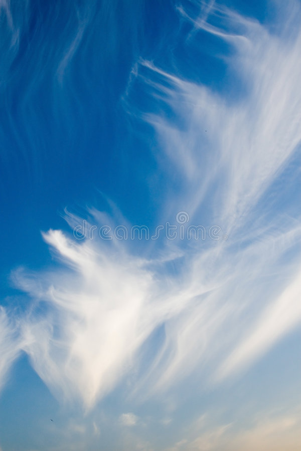 美好的cloudscape 库存照片