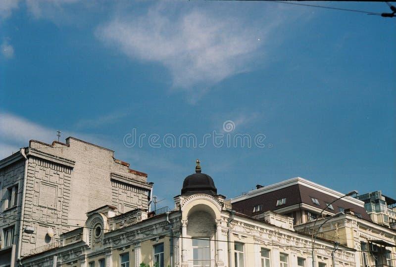 美好的Kyiv建筑学 免版税库存图片