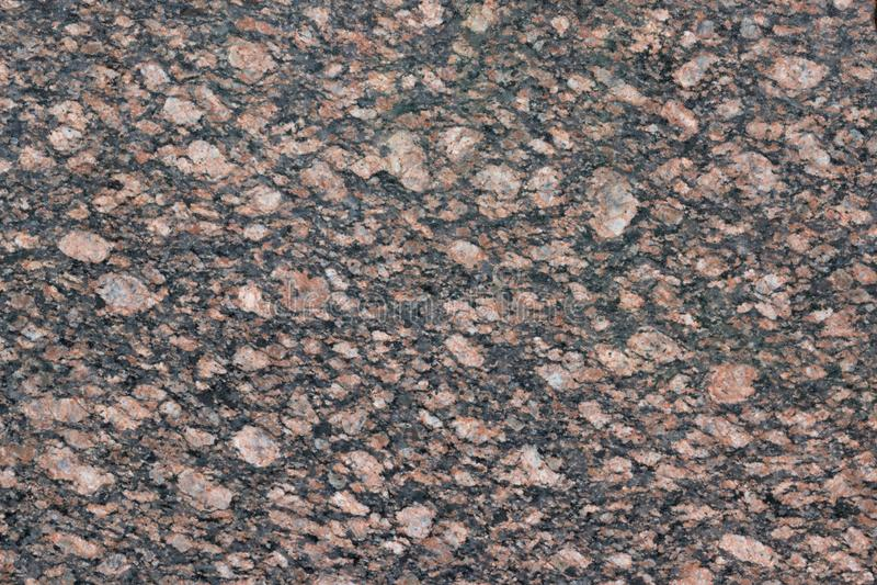 美妙地被处理的花岗岩石头 免版税库存照片