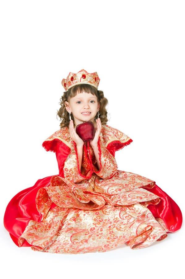 美妙的公主 免版税库存图片