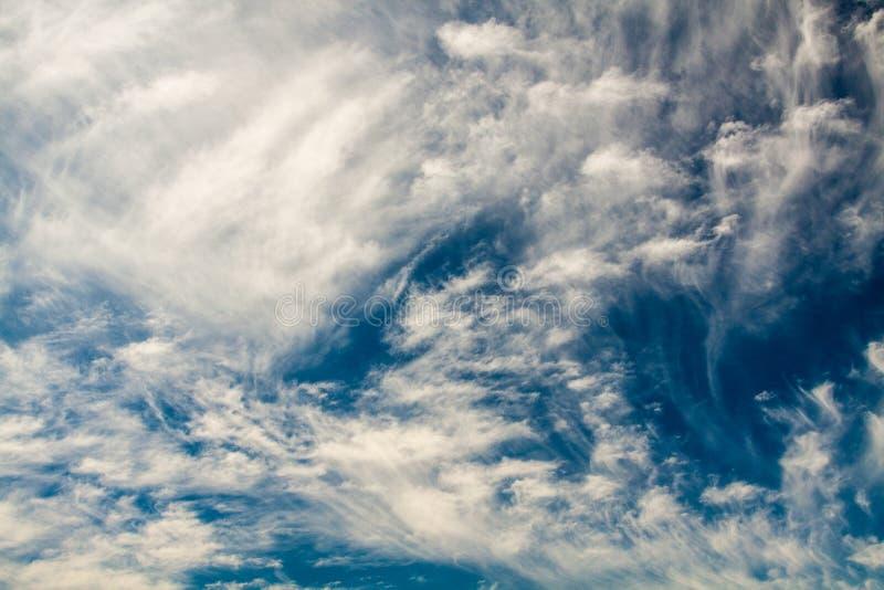 美妙的天空 库存图片