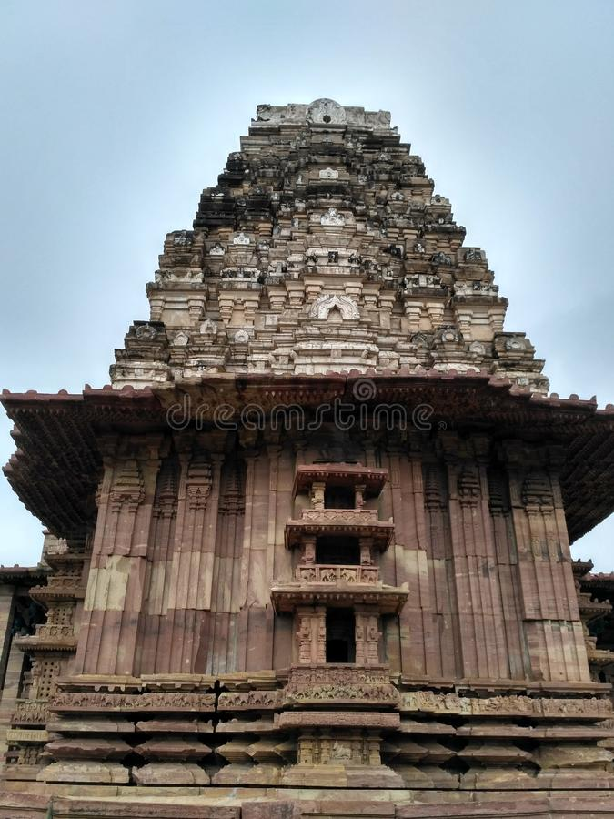 美妙的寺庙 免版税图库摄影