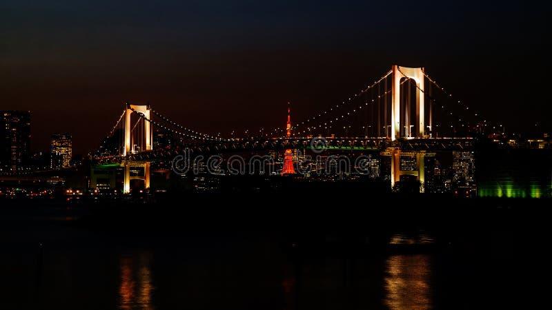美妙的轻的桥梁 库存图片