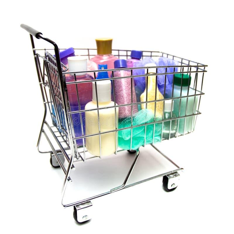 美容品购物 免版税库存图片