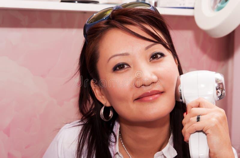 美容师12 免版税库存图片
