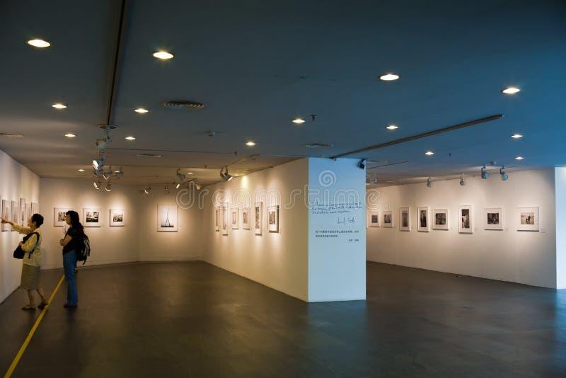 美术画廊广东博物馆 库存照片