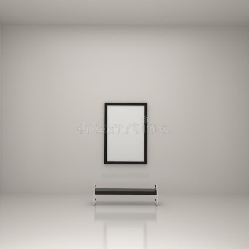 美术画廊 库存例证