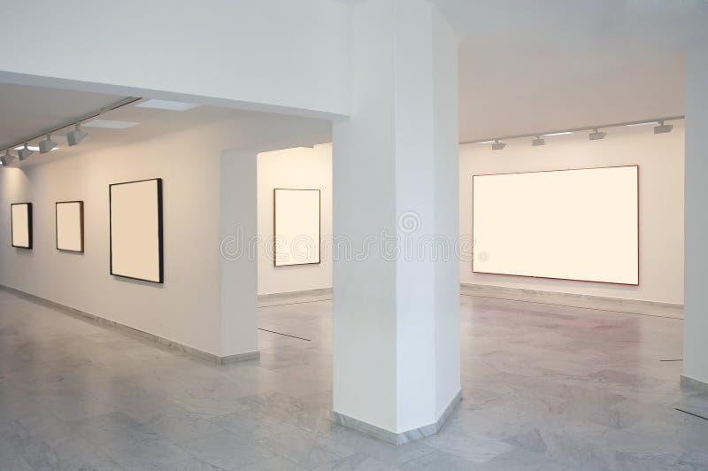 美术画廊 图库摄影