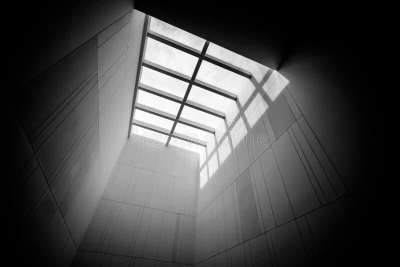 美术馆天窗  库存照片