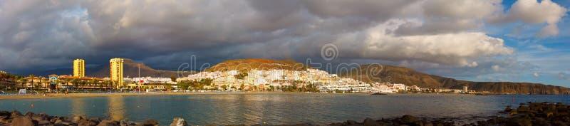 美洲加那利群岛las沿海地带 免版税库存图片