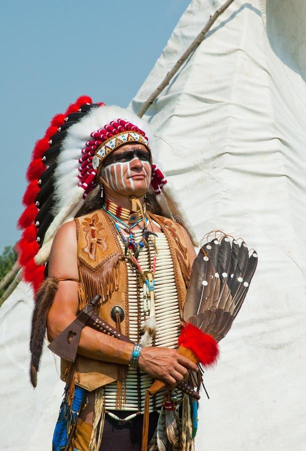 美洲印第安人北部 免版税库存图片