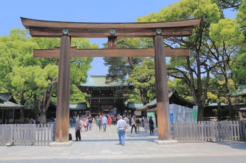 美济礁寺庙东京日本 库存照片