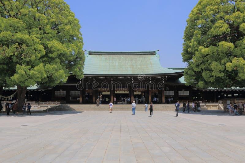美济礁寺庙东京日本 图库摄影