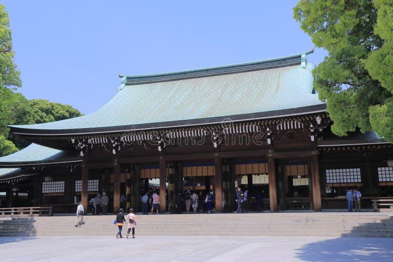 美济礁寺庙东京日本 免版税图库摄影