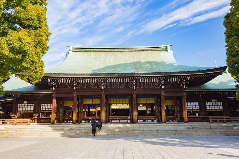 美济礁津沽寺庙在东京,日本 库存图片