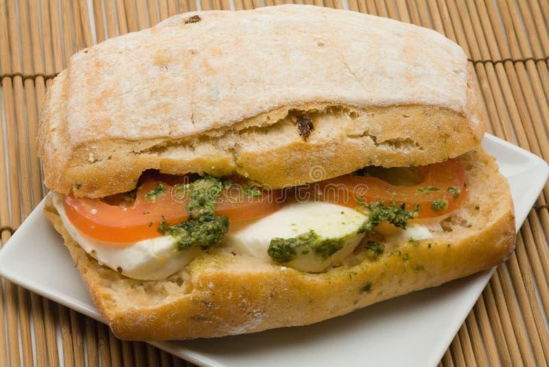 美食的三明治 免版税库存照片