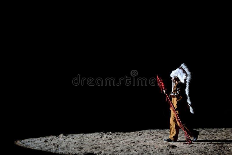 美洲印第安人 库存图片
