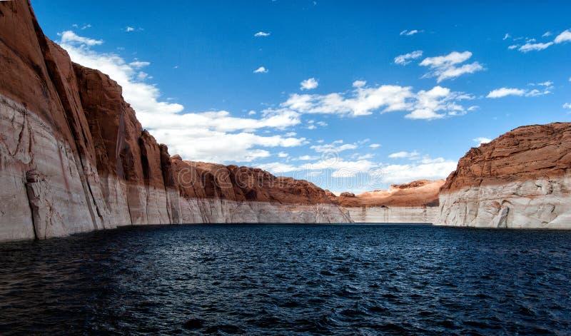 羚羊亚利桑那峡谷页上面的美国 库存图片