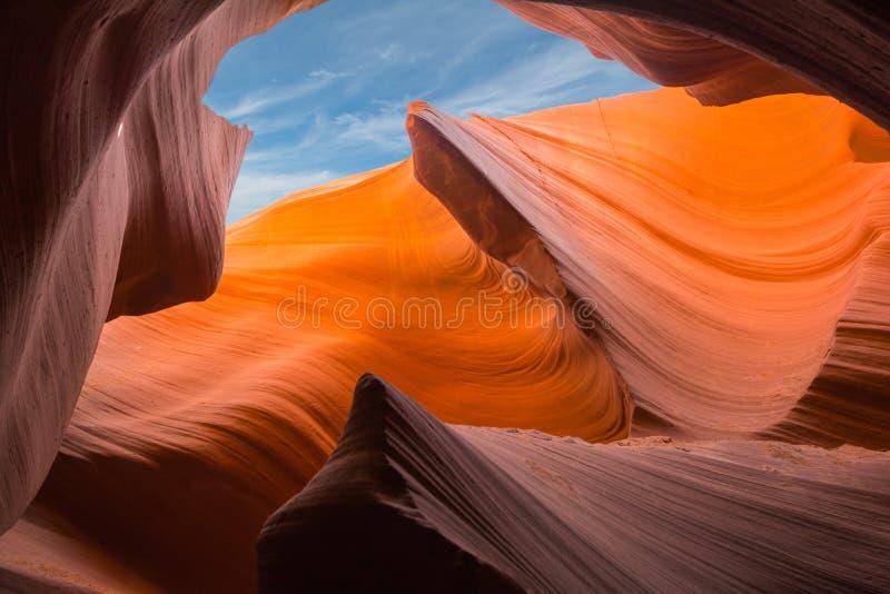 羚羊峡谷,亚利桑那,美国,湖鲍威尔 库存图片