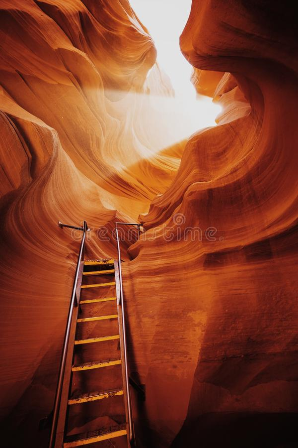 羚羊峡谷,亚利桑那,美国 免版税库存照片