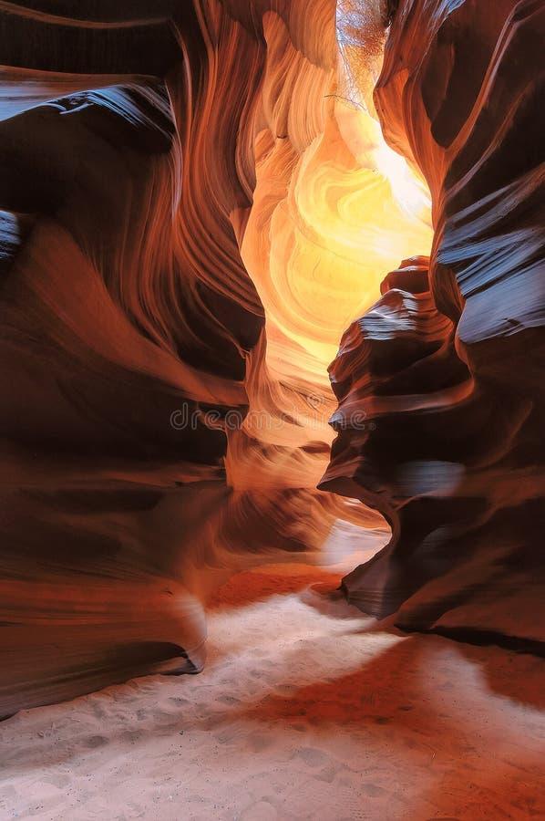 羚羊峡谷,西南,亚利桑那 免版税库存图片