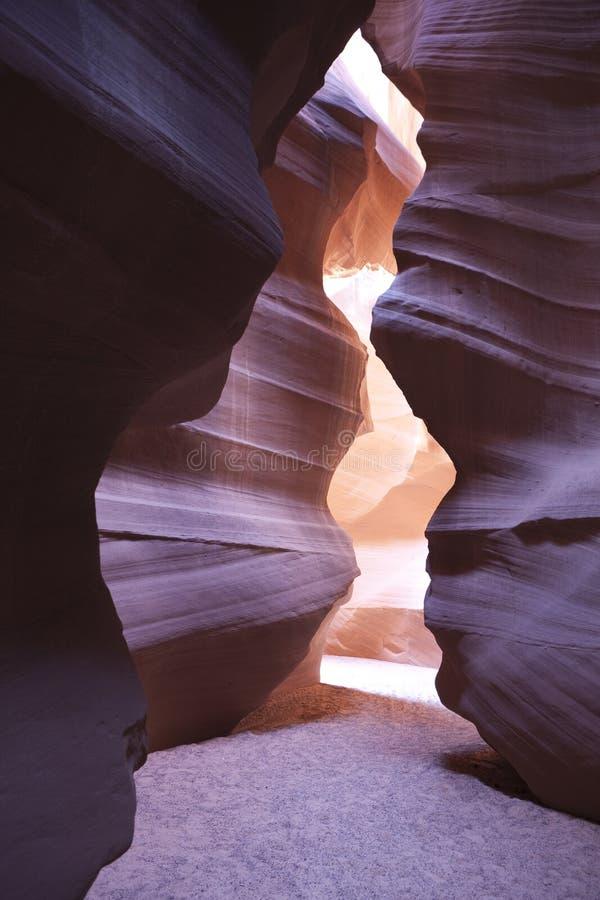 羚羊峡谷 库存照片