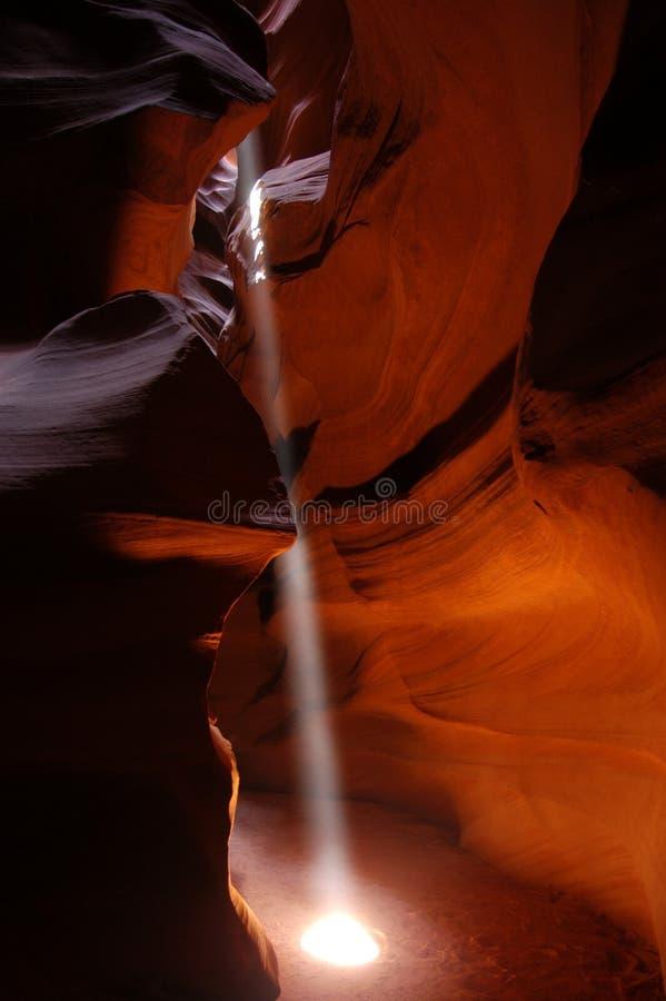 羚羊峡谷 图库摄影