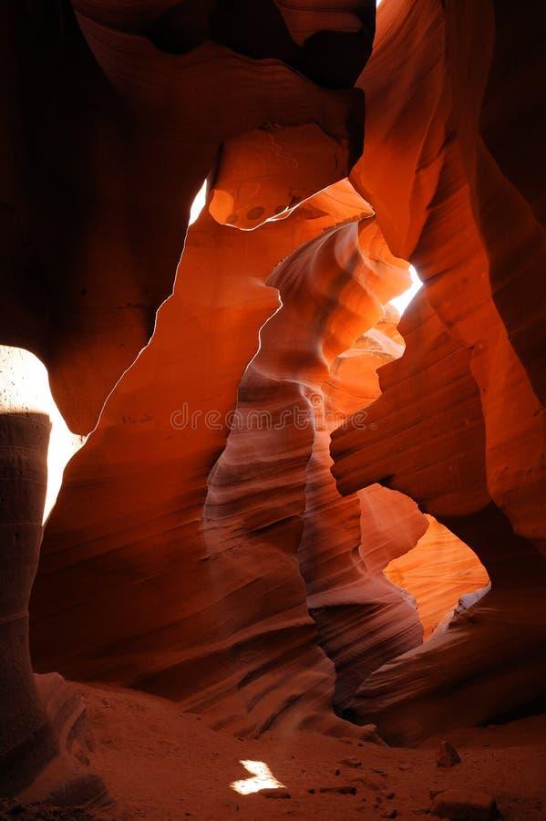 羚羊az峡谷 库存图片