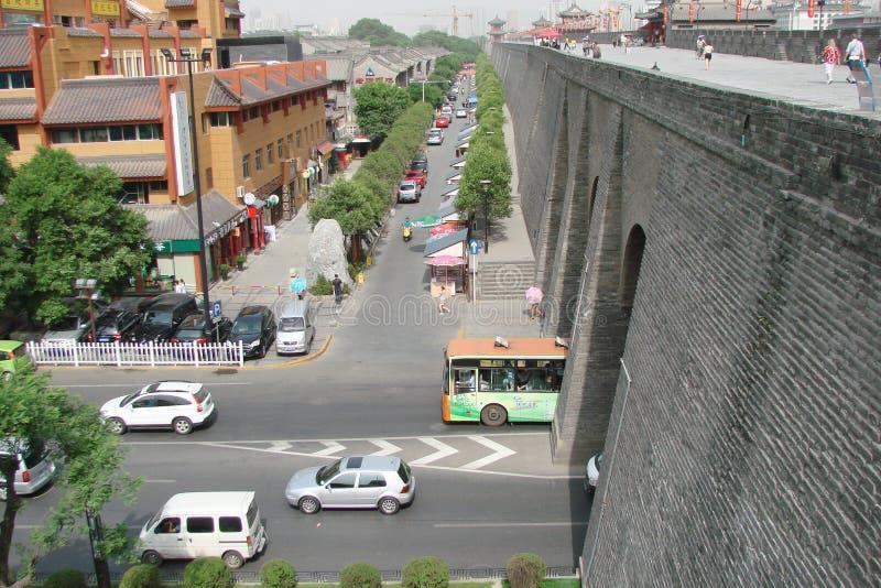 羡市 中国 城市和它的四郊的风景 库存图片