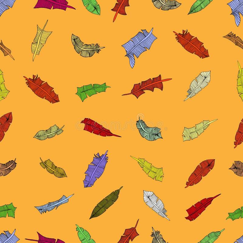 Download 羽毛样式 向量例证. 插画 包括有 现有量, 鸟舍, 图画, 装饰, beautifuler, 乱画, 抽象 - 59103169