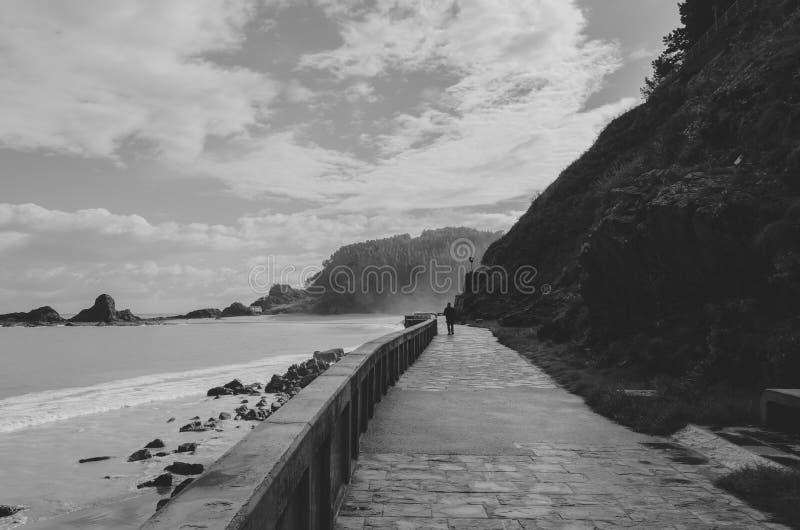 翁达罗阿海滩 免版税库存图片