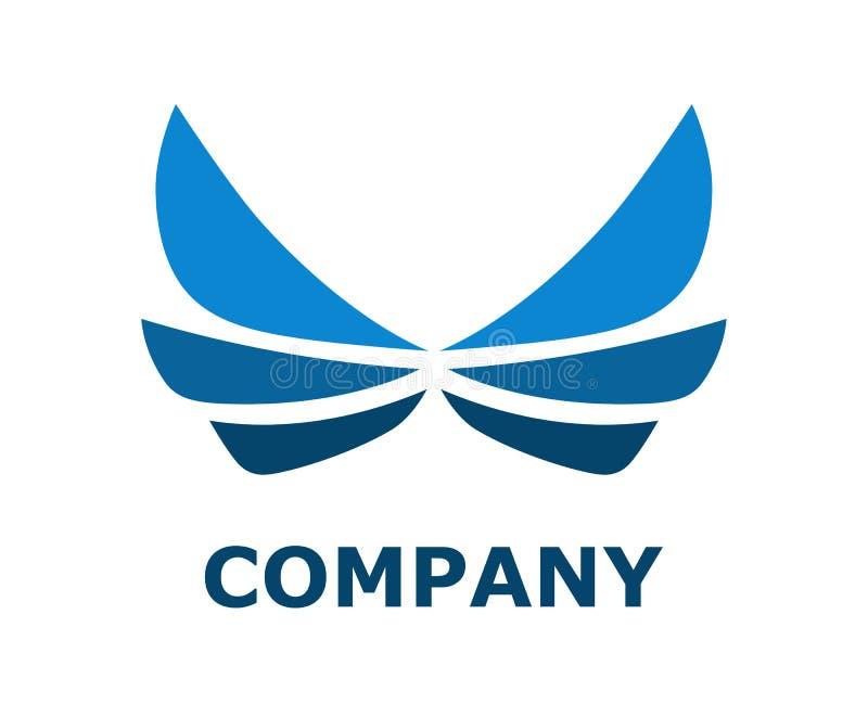 翼商标设计4 皇族释放例证