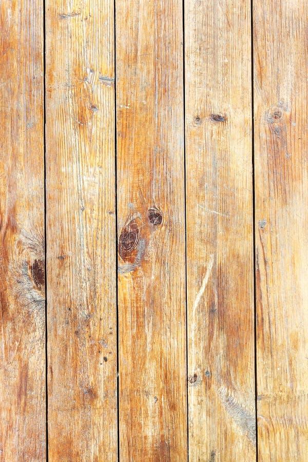 老与自然啪答声的难看的东西黄色木板条地板纹理 库存照片
