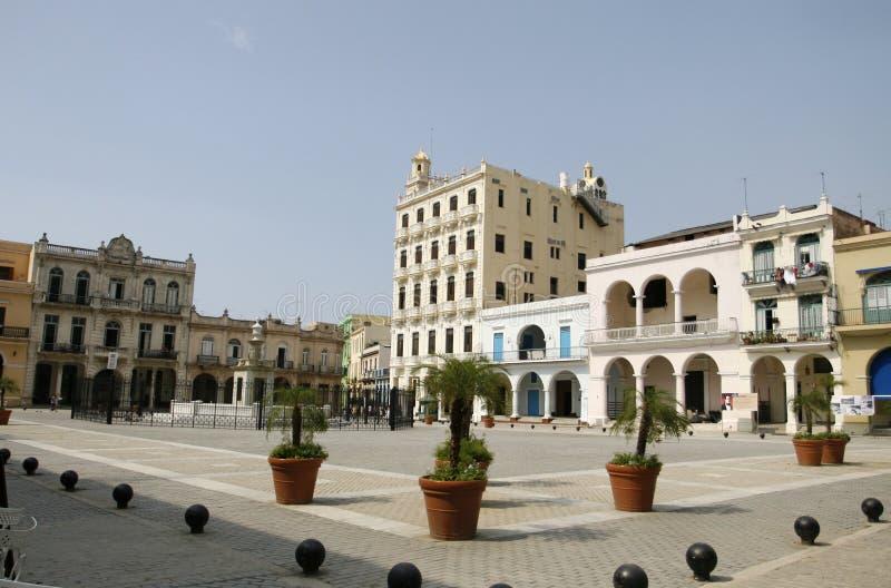 老中心哈瓦那 免版税库存照片
