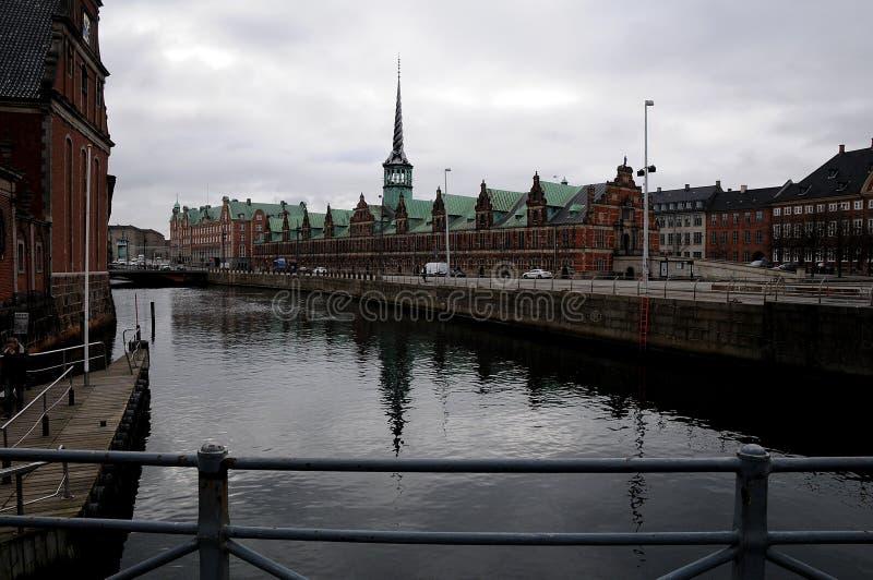 老丹麦语联交所 图库摄影