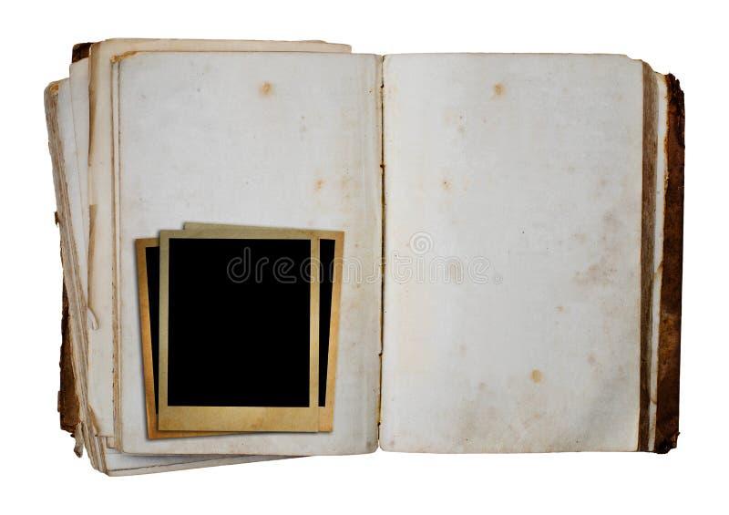 老书 库存照片
