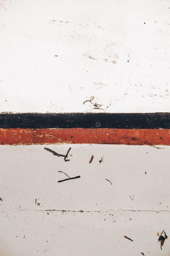 老五颜六色的木被抓的纹理/背景 免版税库存照片