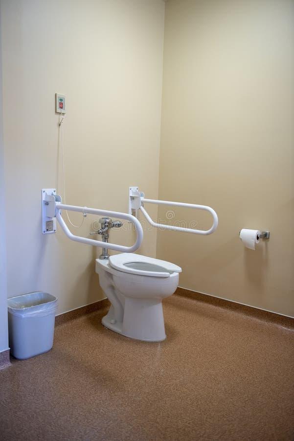 老人院,协助的生活,卫生间,医院,洗手间 库存照片