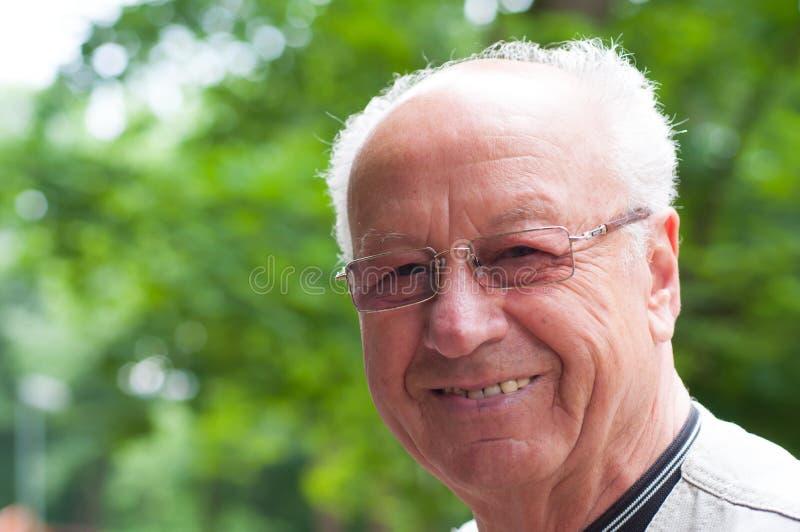老人 免版税库存图片
