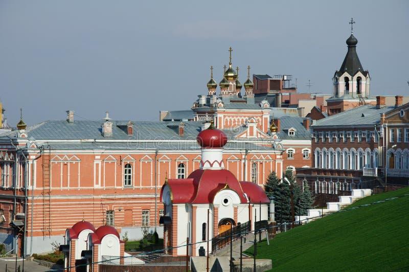 老修道院在俄罗斯 免版税库存照片