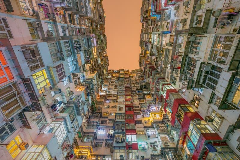 老公寓在香港 库存照片