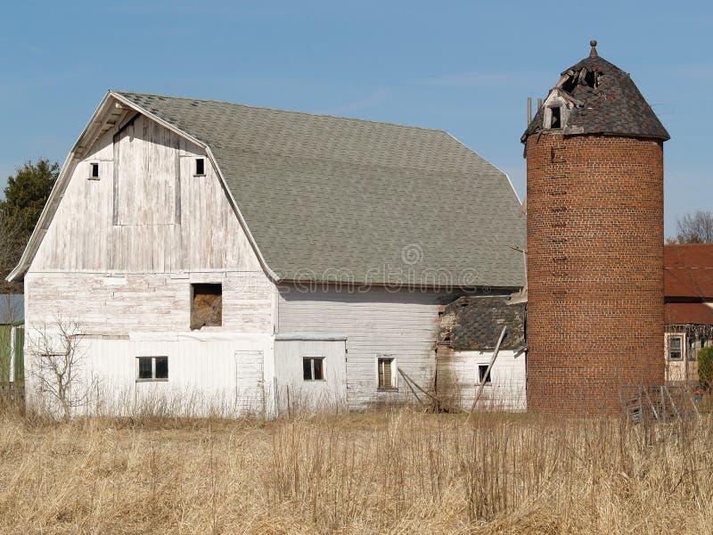 老农场 免版税库存图片