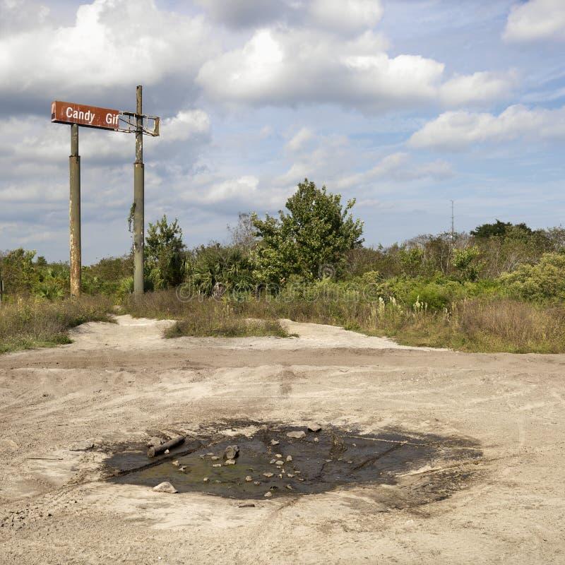 老农村设置符号 免版税库存图片