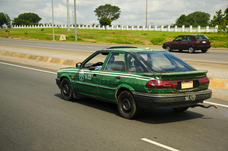 老出租汽车 免版税图库摄影