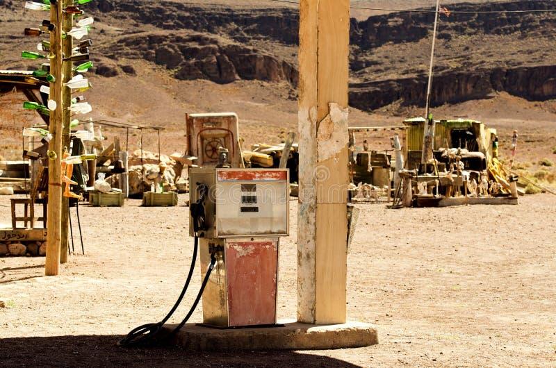 老加油泵 图库摄影