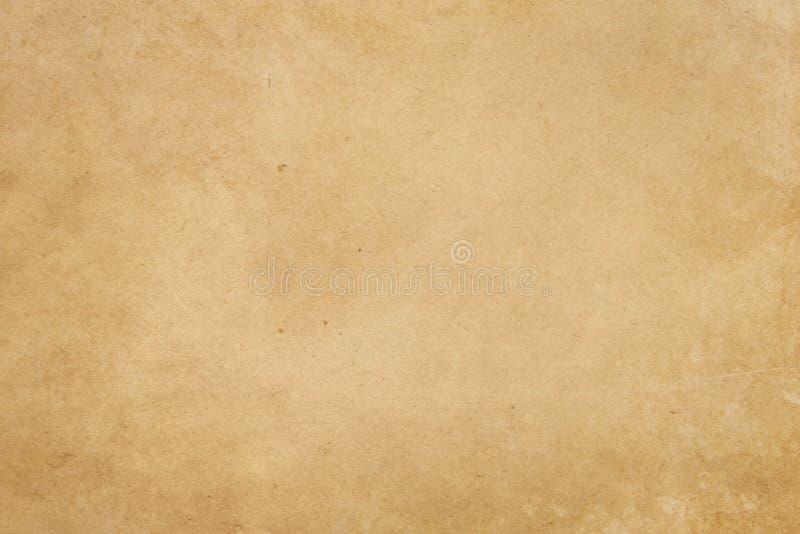 老化纸纹理或背景 库存照片